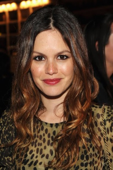 Rachel Bilson Brown Eyes Pink Lips