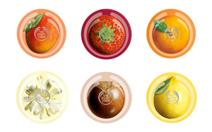 The Body Shop range of Body Butters