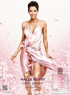 Image of Halle Berry Exotic Jasmine Advertisement