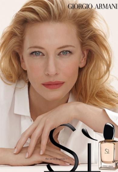 Giorgio Armani Si Cate Blanchett Image