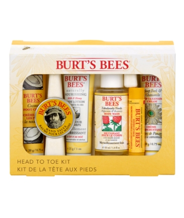 Image of Burts Bees Head to Toe Kit
