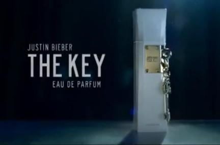 Image of Justin Bieber The Key Advertisement