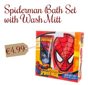 Spiderman Wash Set
