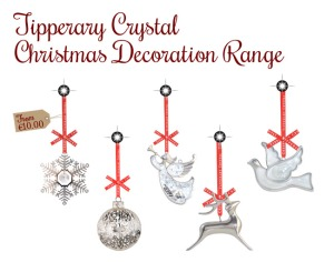 Tipperary Crystal Decorations