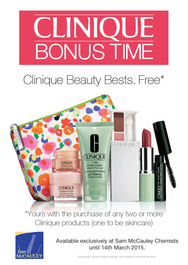 Clinique Bonus Time