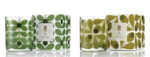 Orla Kiely Basil & Mint and Fig Tree Scented Candles