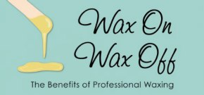 The benefits of waxing infographic