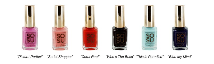 So Su Me Gel Nail Polish
