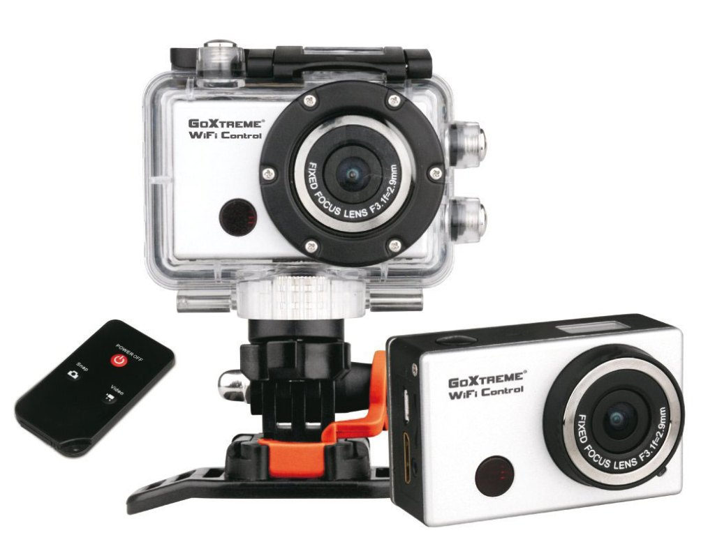 Easypix Go-Extreme WiFi Action Camera System