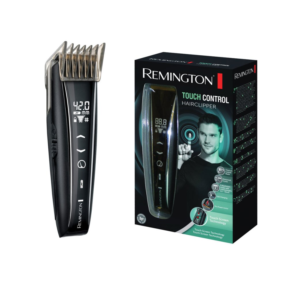 Remington Touch Control Hair Clipper