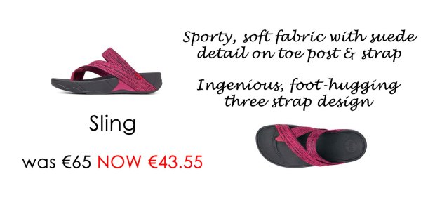 FitFlop Sling in Raspberry