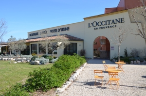 L'Occitane Factory in Manosque, Provence