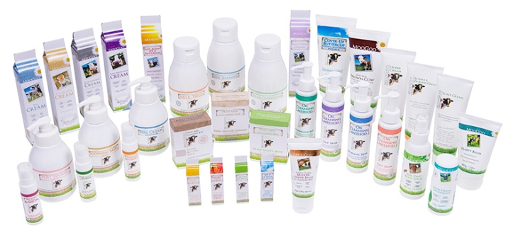 Image of the MooGoo Skincare Range