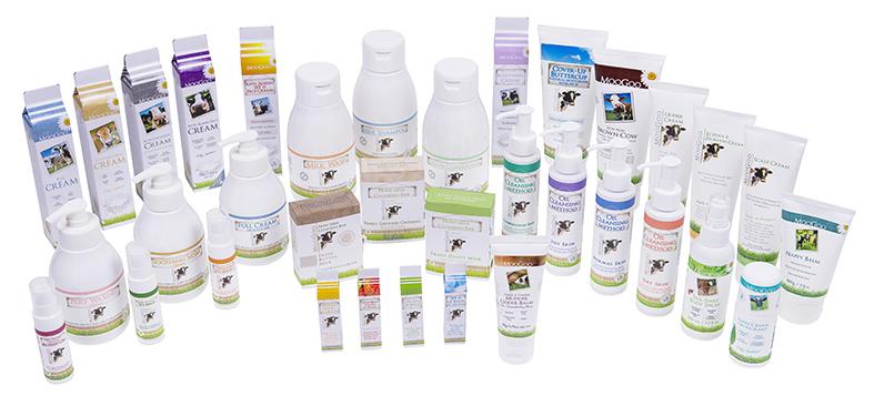 Image of the MooGoo Skincare Range