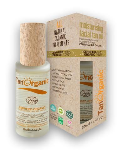 Image of TanOrganic Moisturising Facial Tan Oil