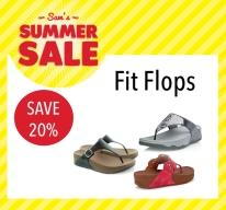 Sam McCauleys Summer Sale Save 20% on Fit Flops