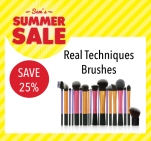 Sam McCauleys Summer Sale Save 25% on Real Techniques Brushes