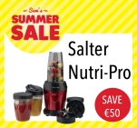 Sam McCauleys Summer Sale Save €50 on Salter Nutri-Pro