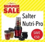 Sam McCauleys Summer Sale Save €50 on Salter Nutri-Pro