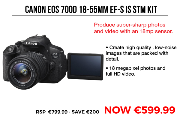 Canon EOS 700D 18-55mm EF_S IS STM Kit