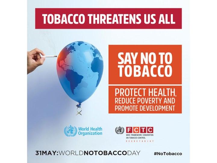 Image WHO World No Tobacco Day