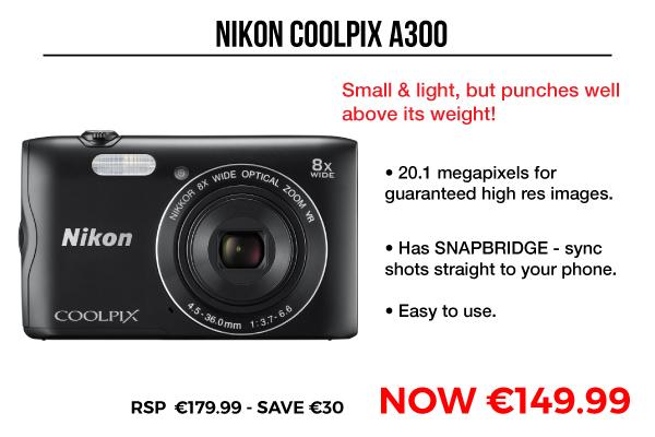 Image of Nikon Coolpix A300