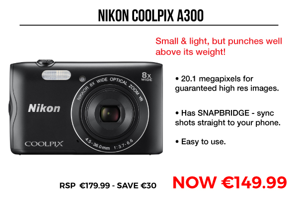 Image of Nikon Coolpix A300