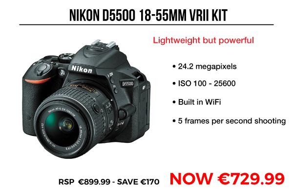 Image of Nikon D5500 18-55mm VRII Kit