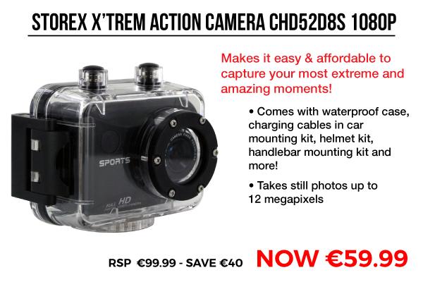 Image of Storex X'trem Action Camera