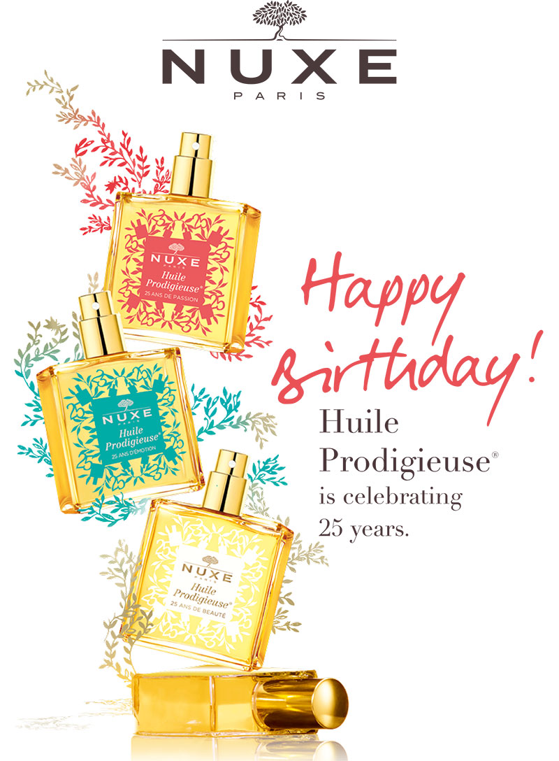 Nuxe Huile Prodigieuse Anniversary Editions
