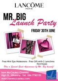 Lancome Mr.Big Launch Party at Sam McCauleys Kilkenny