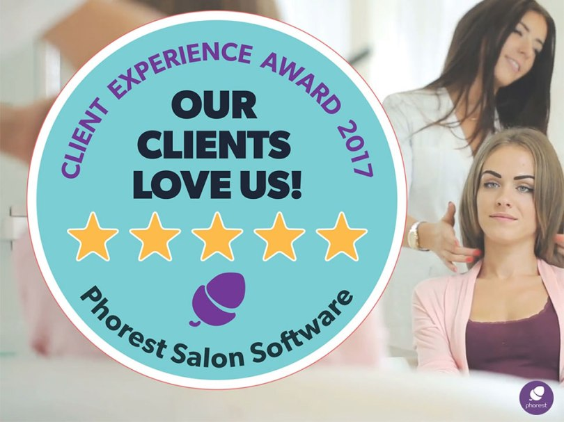 Phorest Client Experience Award 2017