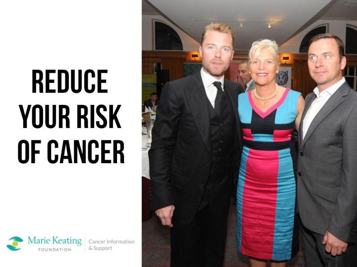 Reduce Your Risk OfCancer