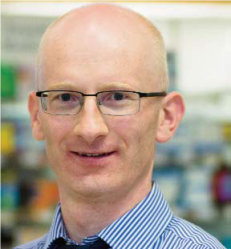 Sam McCauley Pharmacist Brian Kearney