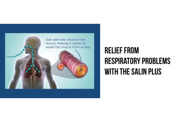 Relief from Respiratory Problems with the Salin Plus