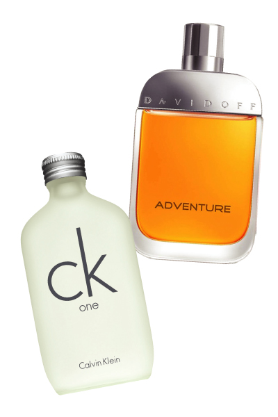 CK One and Davidoff Adventure