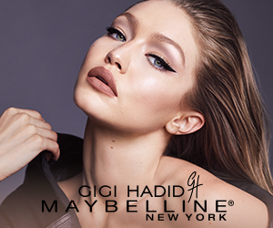 Gigi Hadid X Maybelline East Coast Cool