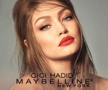 Gigi Hadid X Maybelline West Coast Glow