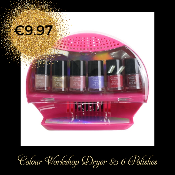 Colour Workshop Dryer and nail polish