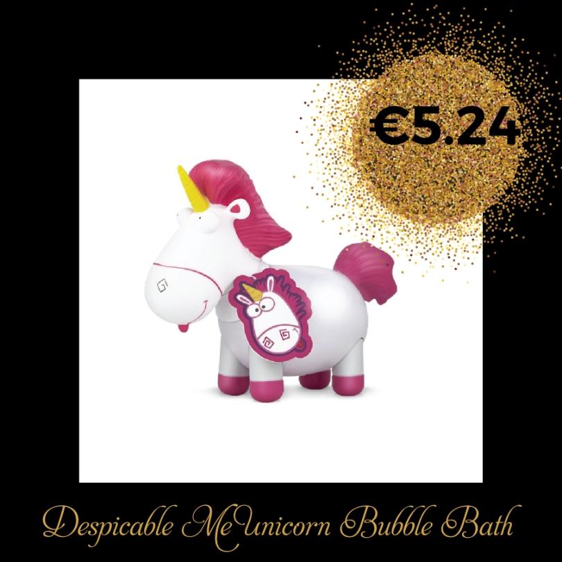 Despicable Me Unicorn Bubble Bath