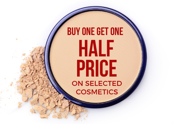 Buy One Get One Half Price Makeup