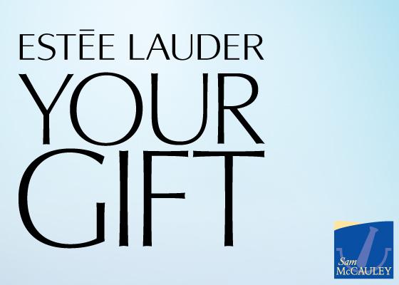 Estee Lauder Gift at SamMcCauleys