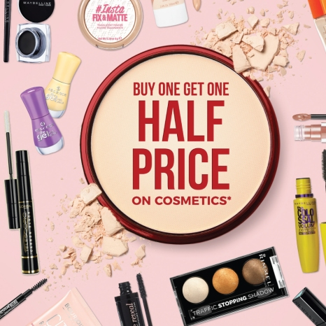 January Cosmetics Sale