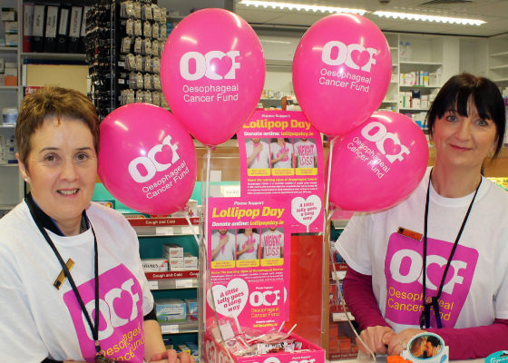 Oesophageal Cancer Fund Lollipop Day