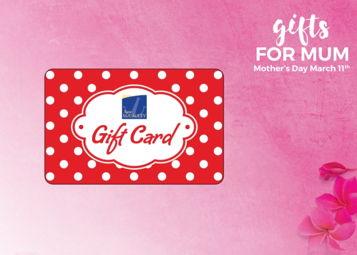 Sam McCauley Gift Card