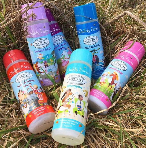 Childs Farm Skincare Range