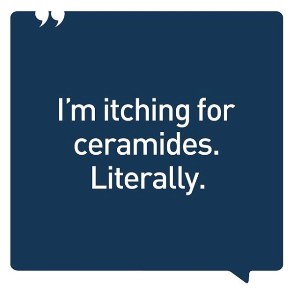 Itching for Ceramides